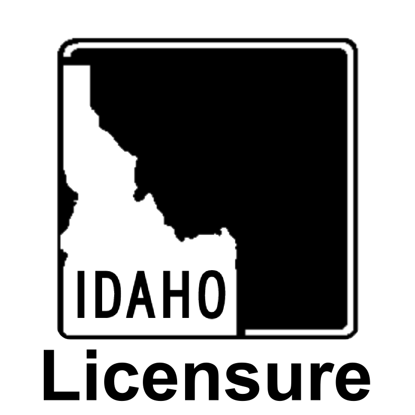 Licensure in Idaho